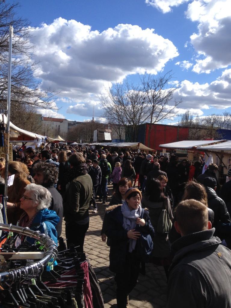 Flohmarkt Mauerpark