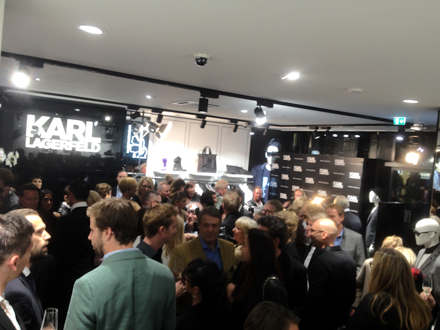 Opening Party Karl Lagerfeld Men