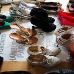 Schuhe sind Rudeltiere