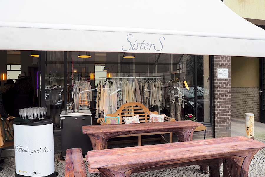 Streifzug durch Wilmersdorf Shoperöffunug bei SisterS