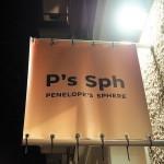 Shop Opening Penelope´s Sphere