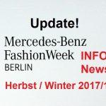 Mercedes-Benz Fashion Week Update