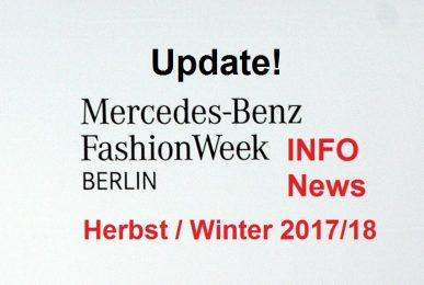 Mercedes-Benz Fashion Week Update