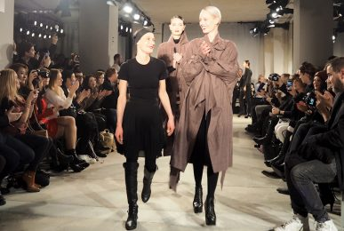 Just-take-a-look.berlin - Isabel Vollrath Runwayshow AW 17-18