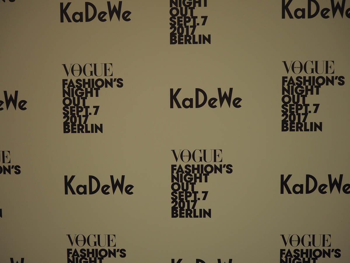 Just-take-a-look Berlin Vogue Fashion´s Night Out Berlin