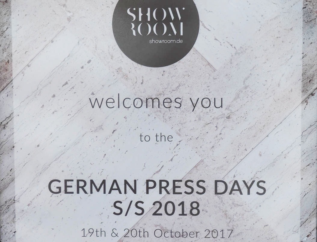 Just-take-a-look Berlin -German Press Days Frühling-Sommer 2018