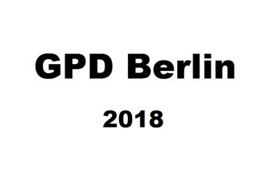 Just-take-a-look Berlin - German Press Days Part 3 - GPD Berlin 2018