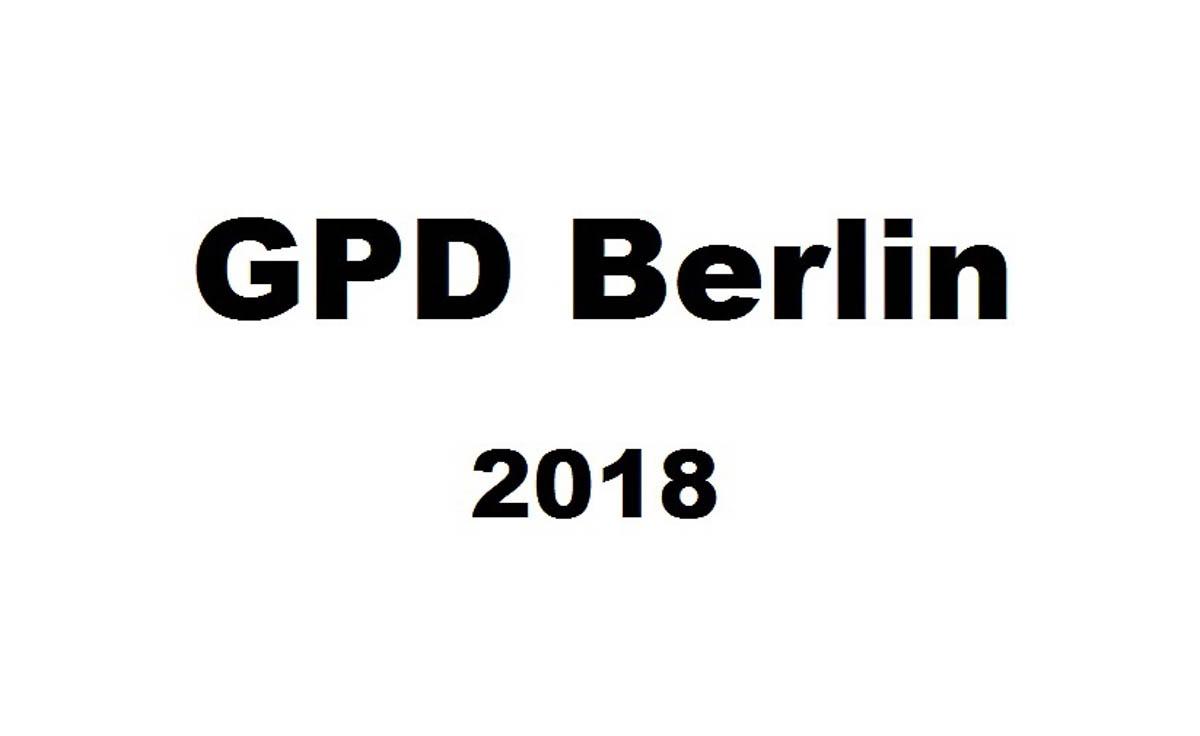 Just-take-a-look Berlin - German Press Days Part 3 - GPD Berlin 2018