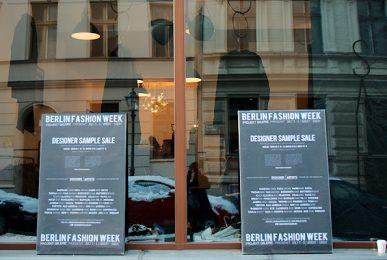 Designer Sample Sale - Projekt Galerie