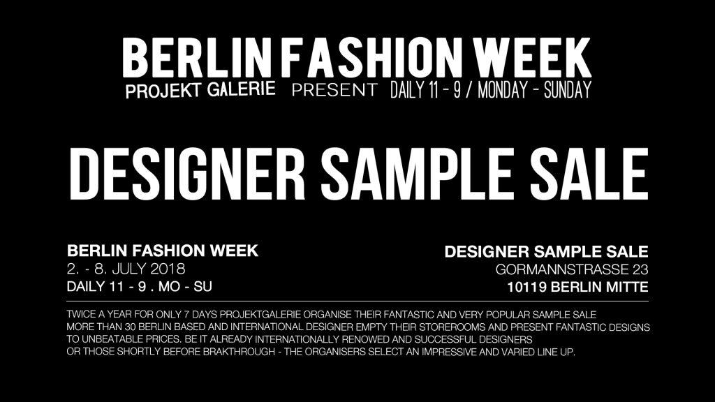 Just-take-a-look Berlin - Designer Sample Sale