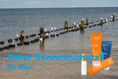 Ohne Sonnenschutz? No Way!