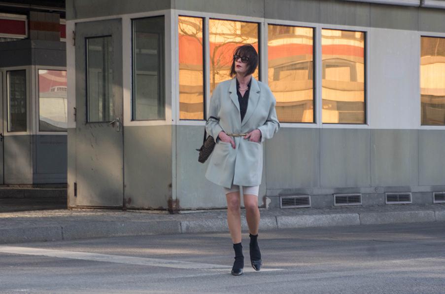 Outfit Bike Shorts, Cycling Pants Drei Linden Grenzübergang-16.1