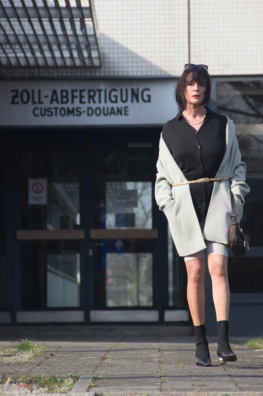 Outfit Bike Shorts, Cycling Pants Drei Linden Grenzübergang-26.1
