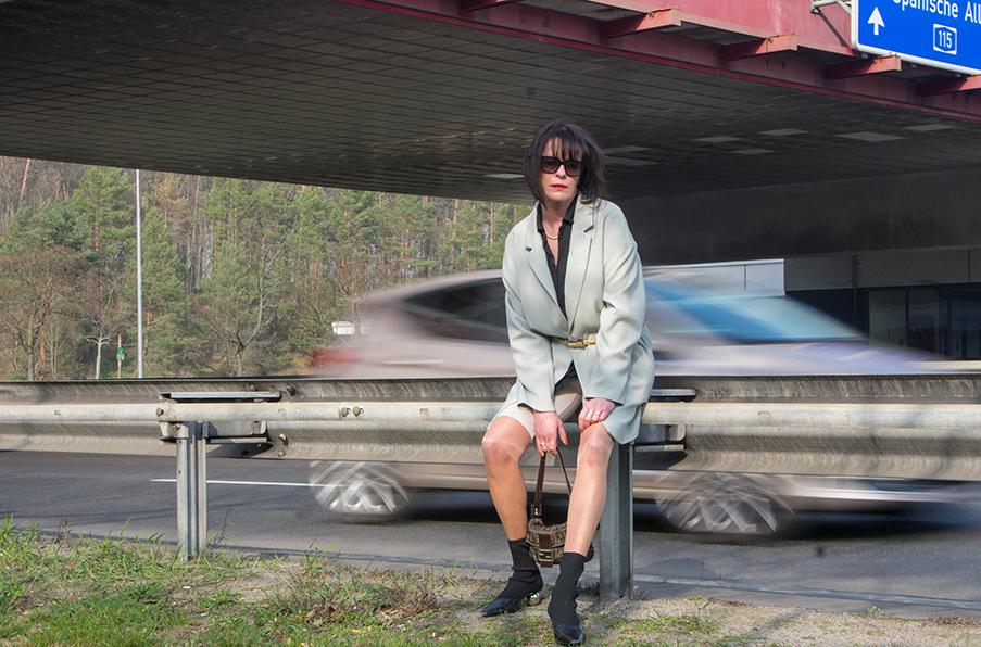 Outfit Bike Shorts, Cycling Pants Drei Linden Grenzübergang-19.1