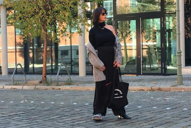 Just-take-a-look Berlin Outfit mit Lagerfeld Tasche 2
