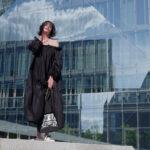Just-take-a-look Berlin Lieblingsstück Chanel-Tasche -Off-Shoulder Dress - Modestandort Berlin