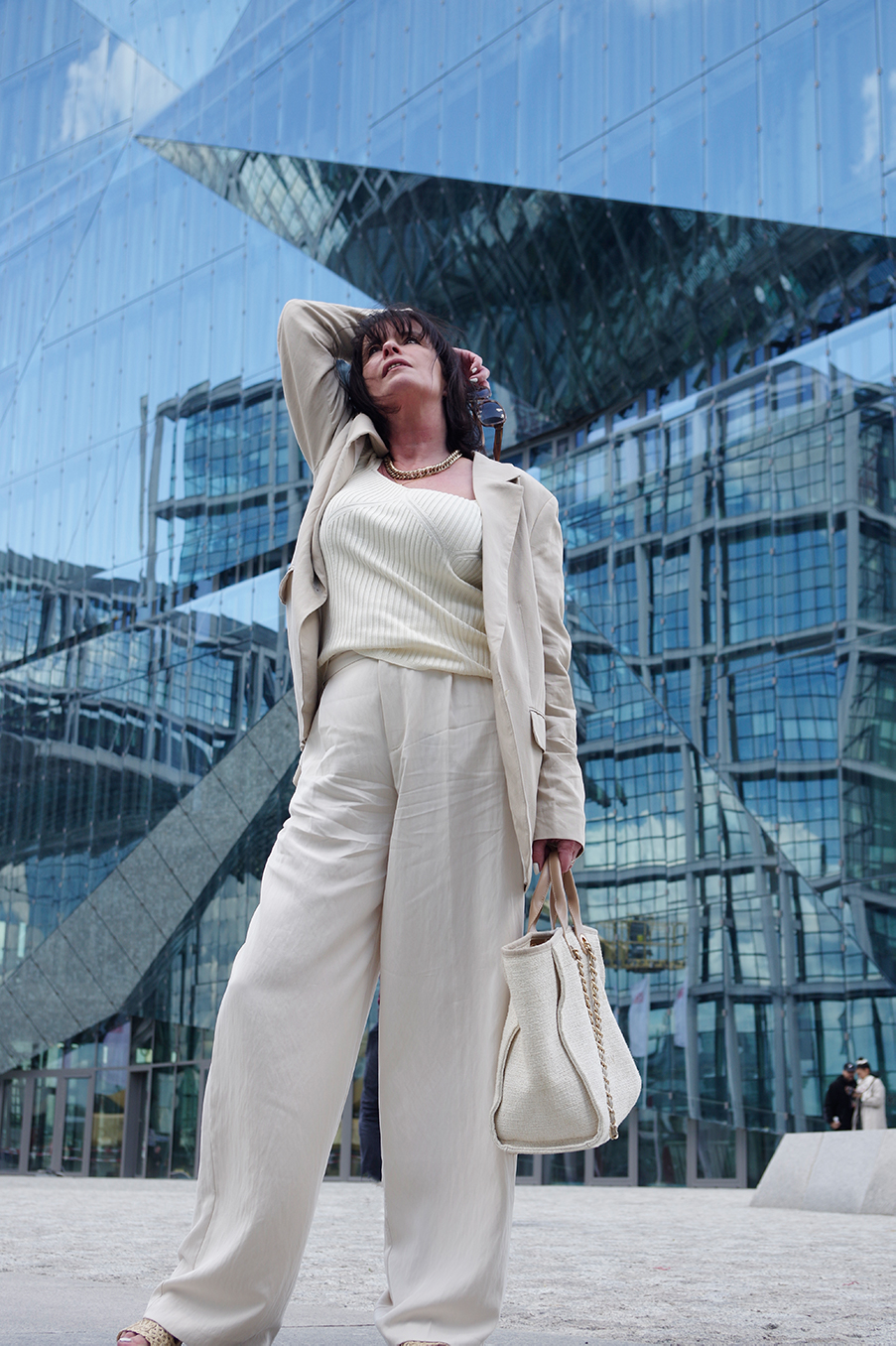 Just-take-a-look Berlin Outfit Creme Corona Wochen 2