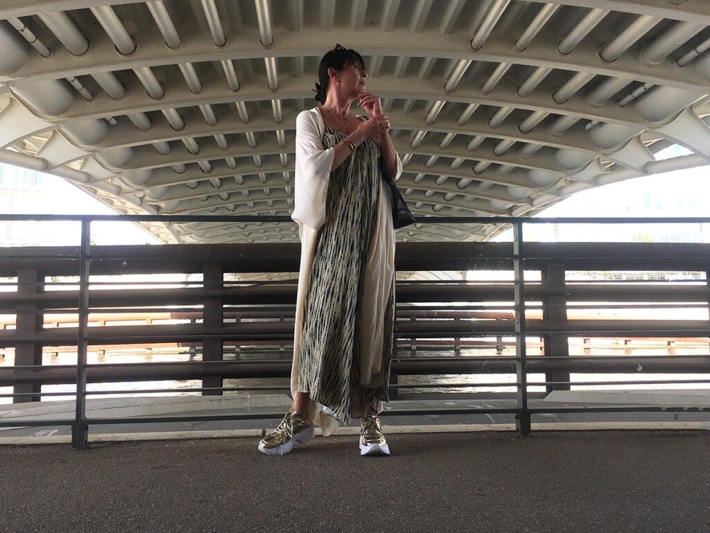 Just-take-a-look Berlin - Spree - Top-Labels - Outfit Kimono 1