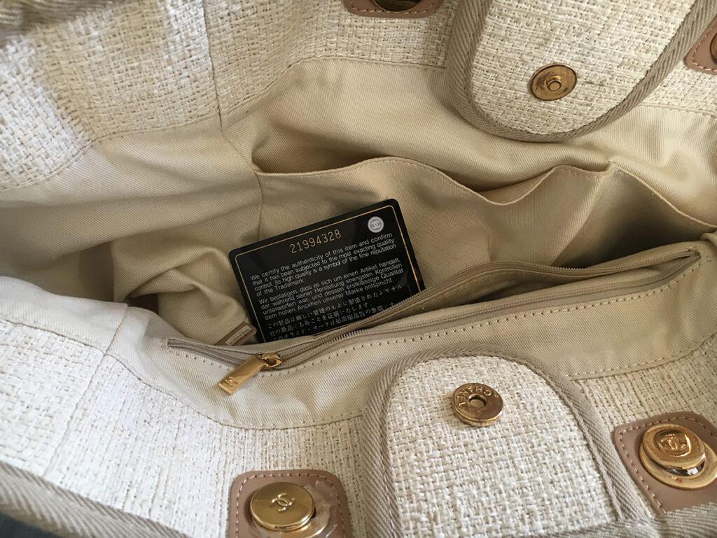 Lieblingsstück Chaneltasche Deauville