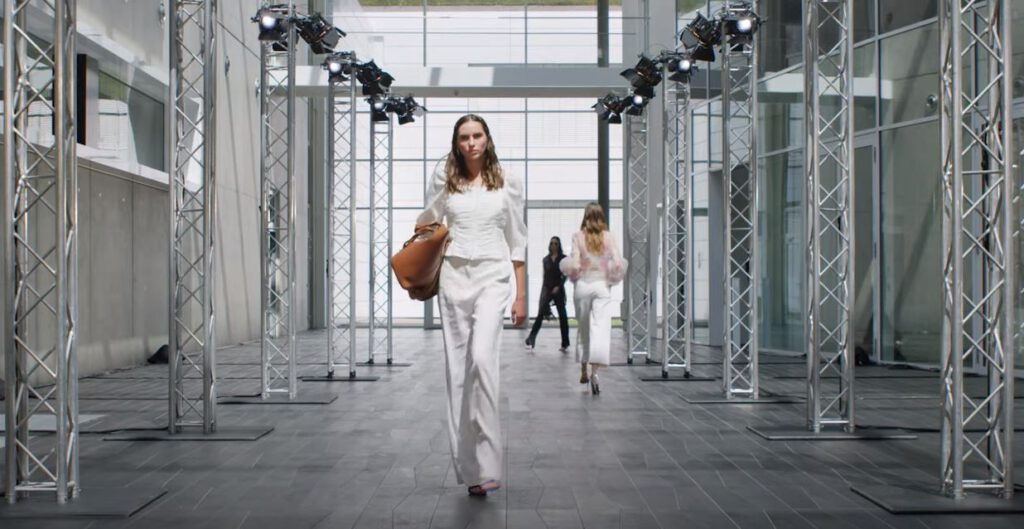 Digitale Fashion Show